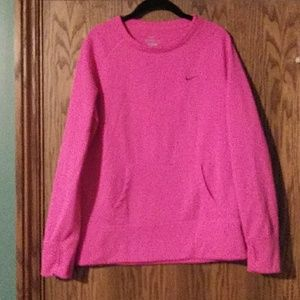 Women's Nike Hot Pink Sweatshirt